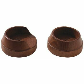 Hallis 50mm Woodline Rosewood Wood Recess Bracket (Pack of 2)