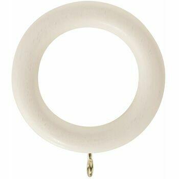 Honister 35mm Linen White Rings (Pack of 4)