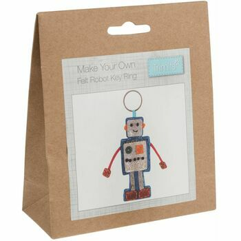 Trimits Robot Felt Decoration Kit