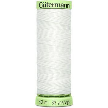 Gutermann White Topstitch Polyester Thread (30m)