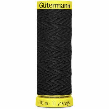 Gutermann Col. Black - SHIRRING Elastic thread 10M