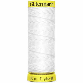 Gutermann Col. White - SHIRRING Elastic thread 10M