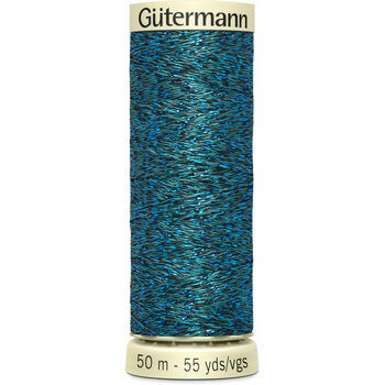 Gutermann Metallic Effect Thread: 50m: Col. 483