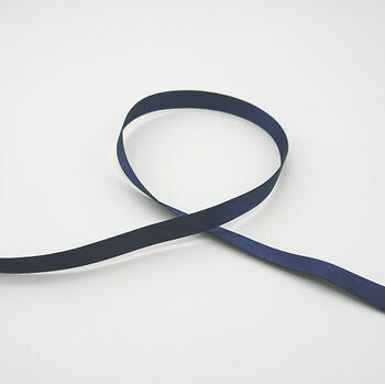Berisfords: Double Faced Satin Ribbon: 10mm: Navy