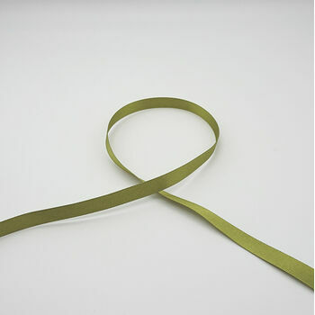 Berisfords: Double Faced Satin Ribbon: 10mm: Moss