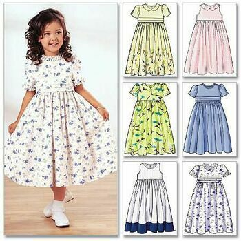 Butterick pattern B3762 Girl\'s Dress