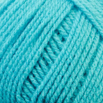 Top Value Yarn - Bright Turquoise - 847 (100g)