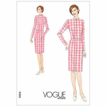 Vogue Pattern V1004 Misses\' Dress Fitting Shell