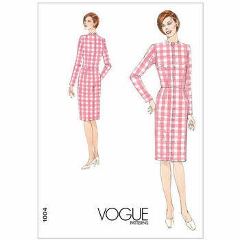 Vogue Pattern V1004 Misses' Dress Fitting Shell