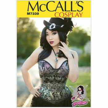 McCall's Sewing Pattern M7339 Corset (Misses Cosplay Costumes)