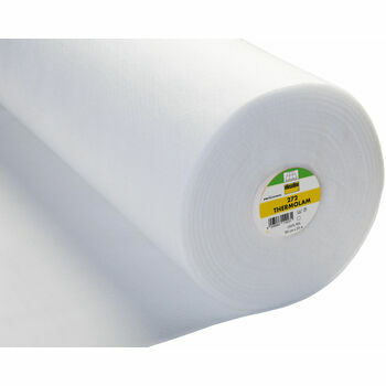 Vilene Thermolam Compressed Fleece Sew-In -90cm (White) - Per metre
