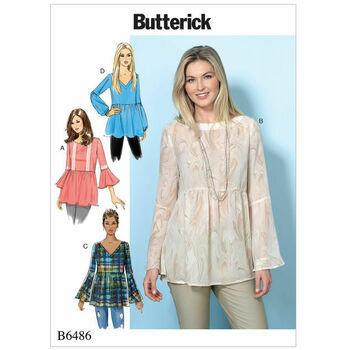 Butterick pattern B6486