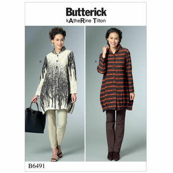 Butterick pattern B6491