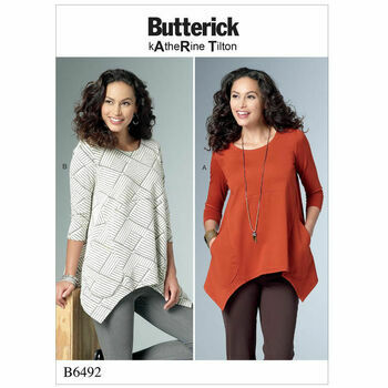 Butterick pattern B6492