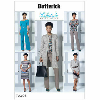 Butterick pattern B6495