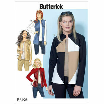 Butterick pattern B6496