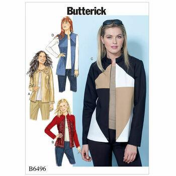 Butterick pattern B6496