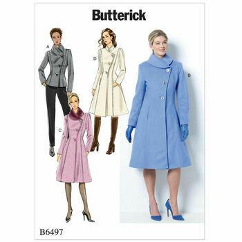Butterick pattern B6497