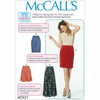 McCalls pattern M7631