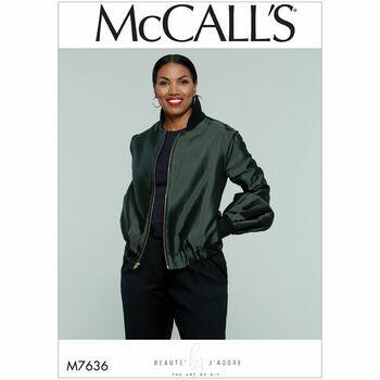 McCalls pattern M7636