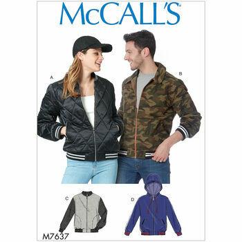 McCalls pattern M7637