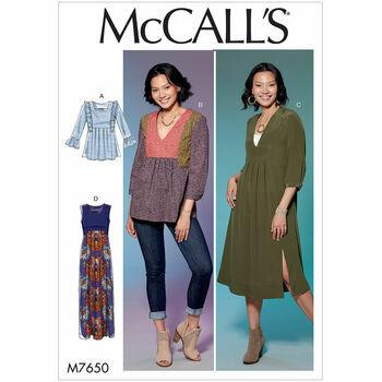 McCalls pattern M7650