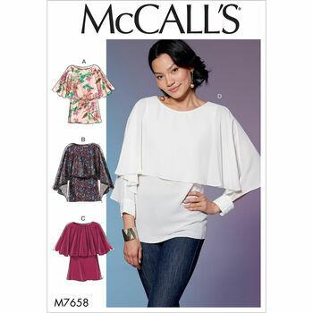 McCalls pattern M7658