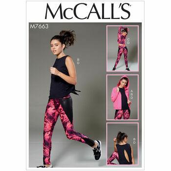 McCalls pattern M7663