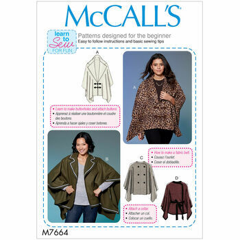 McCalls pattern M7664