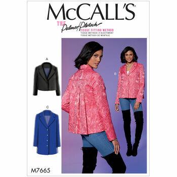 McCalls pattern M7665