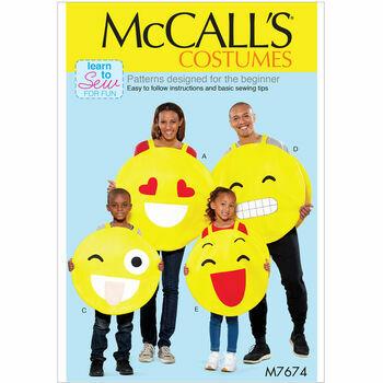 McCalls pattern M7674