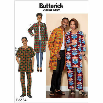 Butterick pattern B6534