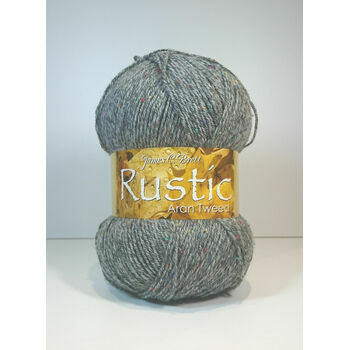 James C Brett Rustic Aran Tweed - DAT28 (400g)