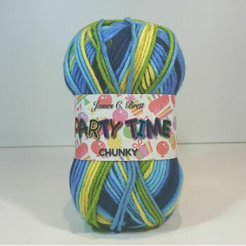 James C Brett Party Time Chunky - PT2 (100g)