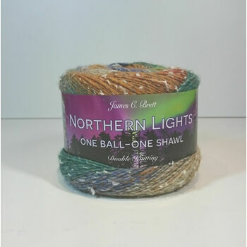 Brett Northern Lights One Ball - One Shawl DK - NL4 (150g)