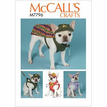 McCalls pattern M7796