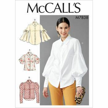 McCalls pattern M7838