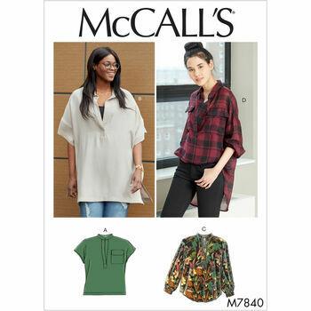 McCalls pattern M7840