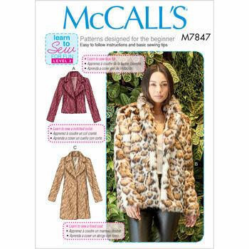 McCalls pattern M7847