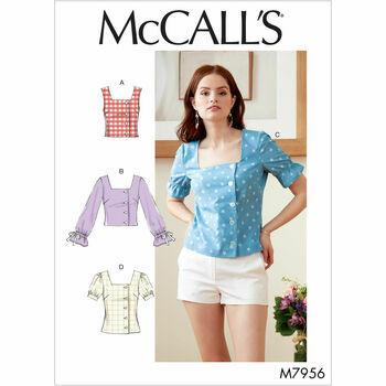 McCalls pattern M7956