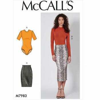 McCalls pattern M7983