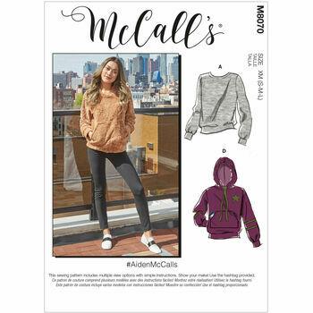 McCalls pattern M8070