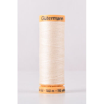 Gutermann Natural Cotton Thread: 100m (519)