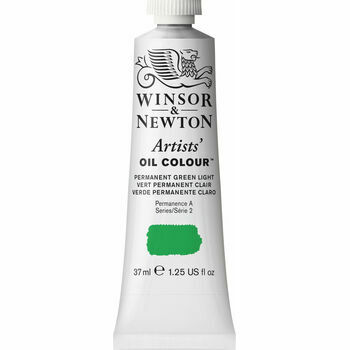 Artists' Oil Colour - Permanent Green Light - Series 2 (37ml)