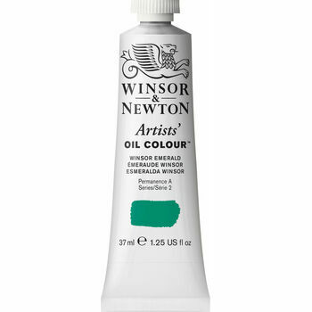 Artists' Oil Colour - Winsor Emerald - Series 2 (37ml)