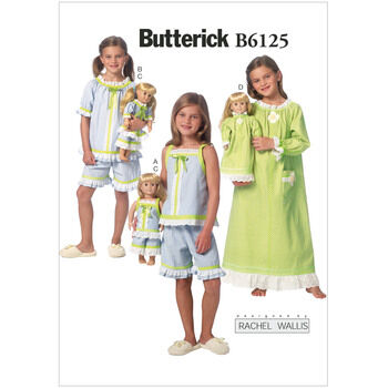 Butterick pattern B6125