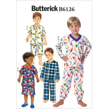 Butterick pattern B6126