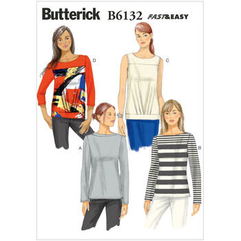 Butterick pattern B6132