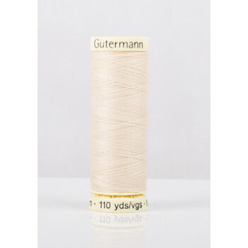 Gutermann Cream Sew-All Thread: 100m (5)
