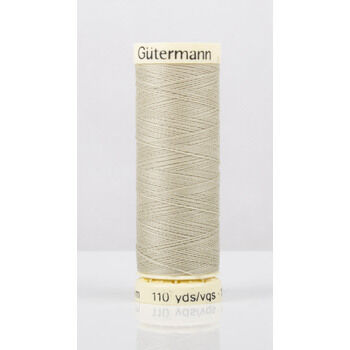 Gutermann Beige/Green Sew-All Thread: 100m (503)